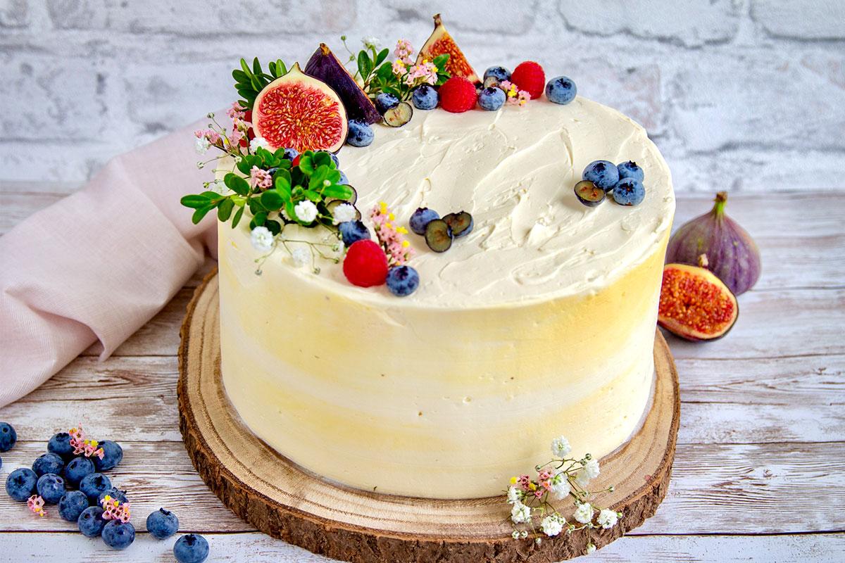 Heidelbeersahne Torte